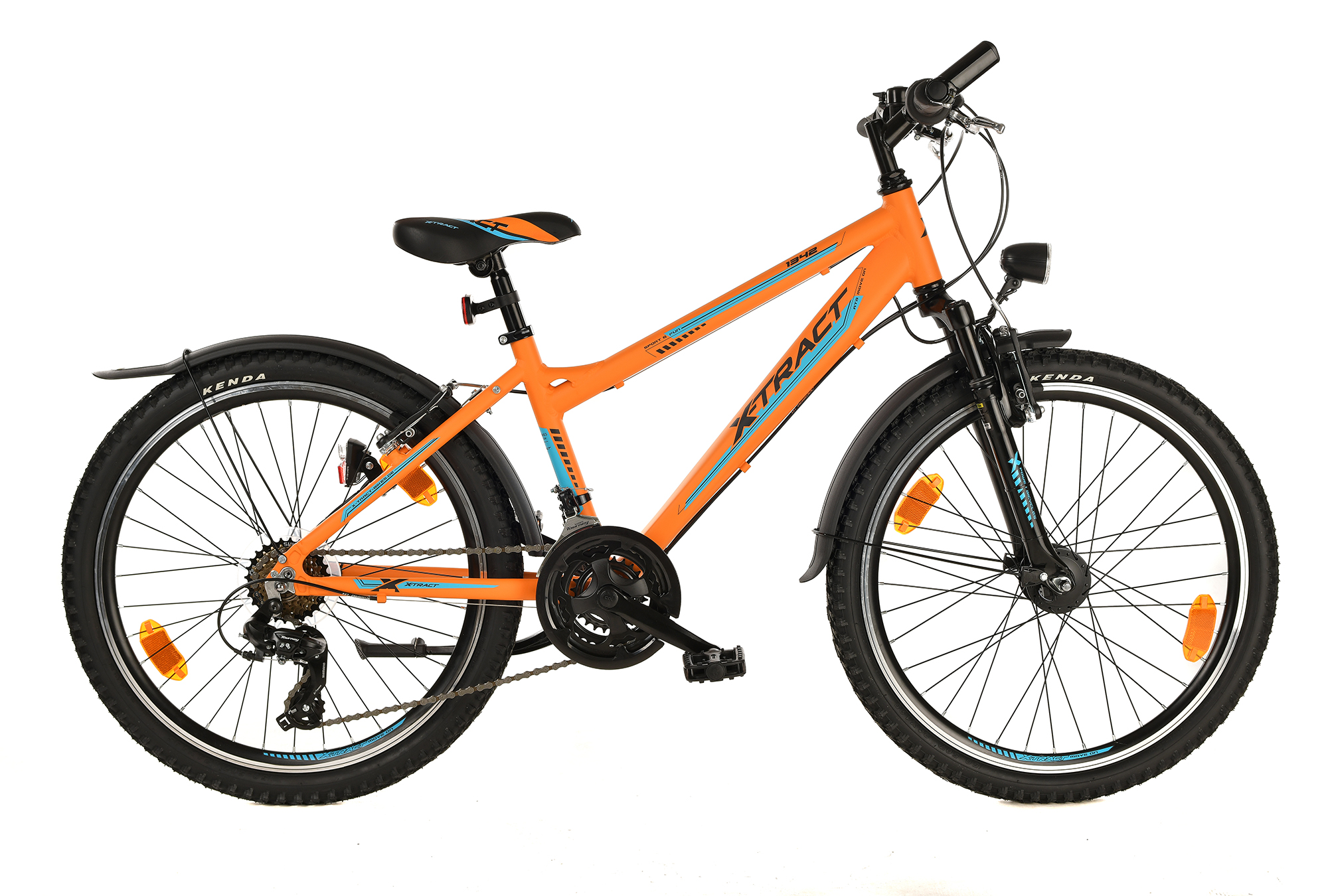X Tract 1342 Orange Feldmeier Bikes